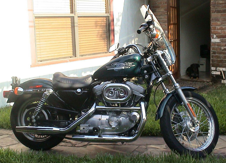 Harley-Davidson XL 883C Sportster Custom  2001